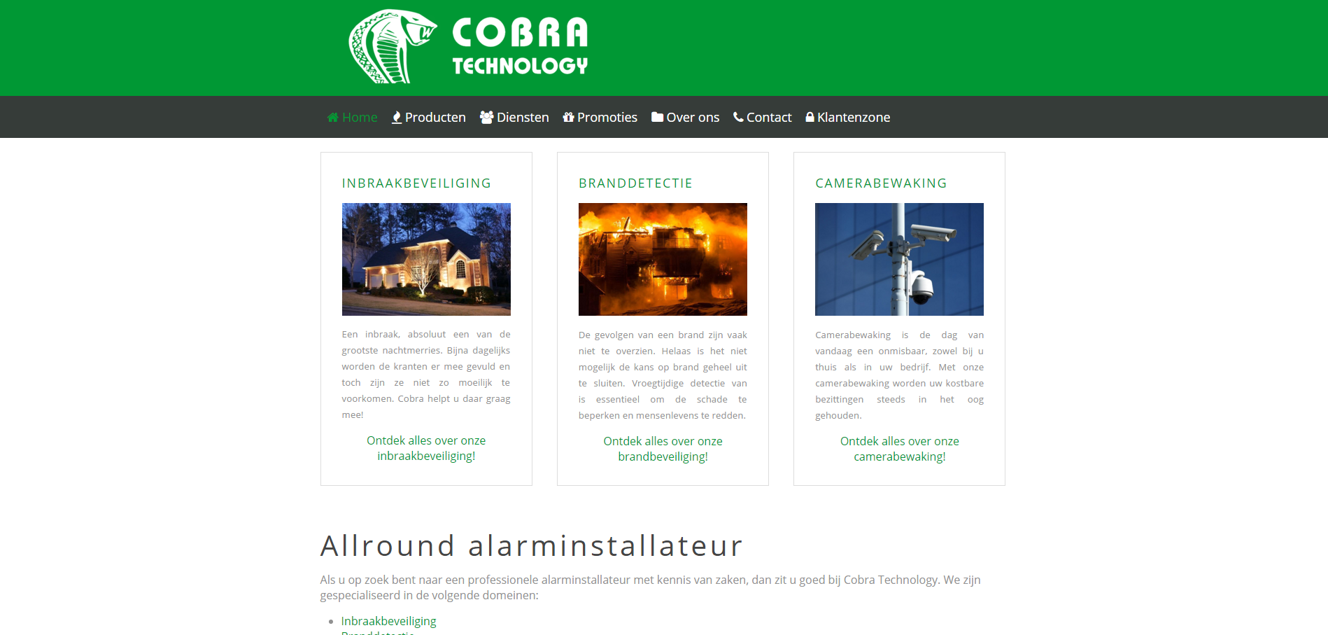 Cobra Technology - Alarminstallateur